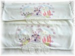 Embroidered Southern Belle Pillowcase Pair